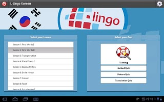 Screenshot of Z_L-Lingo Learn Korean HD