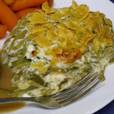 Green Bean Casserole W/Swiss Cheese