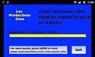 Screenshot of Chromatic Hits 3 - Cymbals