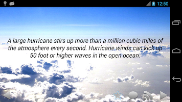 Screenshot of Amazing Weather Facts