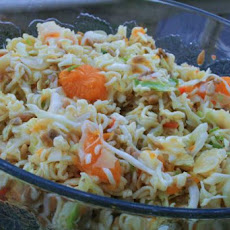 Sweet & Tangy Asian Ramen Slaw