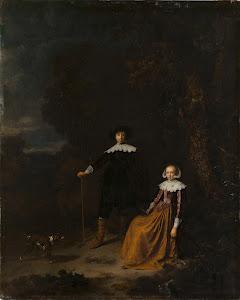 RIJKS: Gerard Dou, Nicolaes Pietersz. Berchem: painting 1675