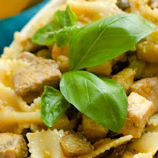 Tuna, Lemon And Chard Farfalle