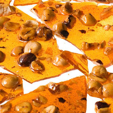 Salty Hazelnut Brittle