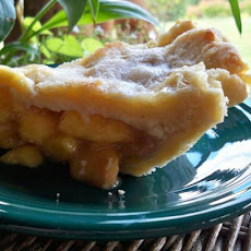 Fresh Peach Brown Sugar Pie