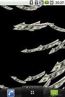 Screenshot of Money Flow Live Wallpaper