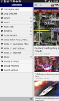 Screenshot of Toledo News Now
