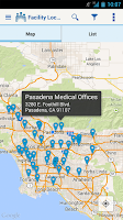 Screenshot of Kaiser Permanente