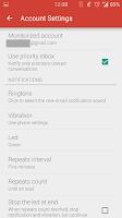 Screenshot of GMail Unreads Notifier