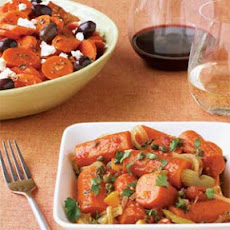 Braised Carrots with Orange and Capers