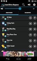 Screenshot of Sound Effects Ringtones