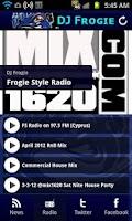 Screenshot of DJ Frogie