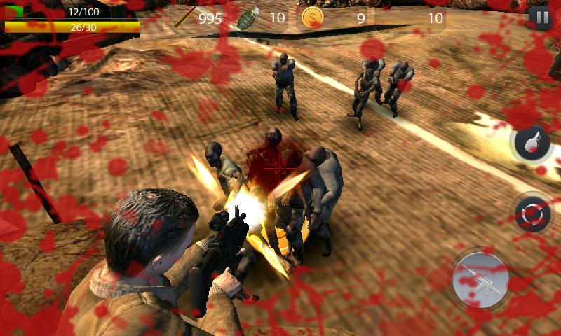 Zombie Hell - FPS Zombie Game Screenshot 1