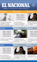 Screenshot of El Nacional