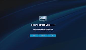 Screenshot of Digital Screen Modeller