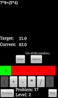 Screenshot of Math 4 Me
