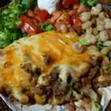 Mexican Hamburger Casserole
