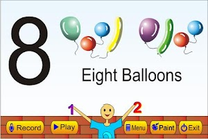 Screenshot of Kids Numbers Learning Guide