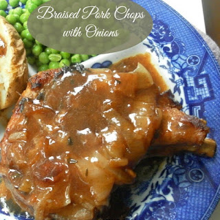 Braised Pork Chops with Onions