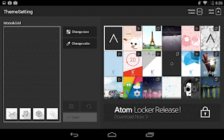 Screenshot of Atom Launcher