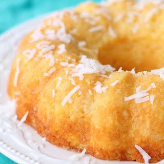 Dole Crushed Pineapple Bundt Cake