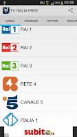 Screenshot of TV ITALIA 2014 FREE