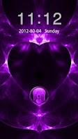 Screenshot of GO Locker Valentines Purple