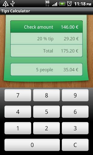 Advanced Tip Calculator