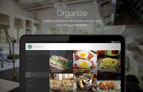 App Yummly Recipes & Shopping List apk for kindle fire