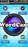 Screenshot of WordCam! (FREE)