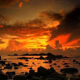 Stones Clouds by Egan Phedra - Landscapes Cloud Formations ( clouds, skyline, sunrises, sky, sunrise, skyscape )