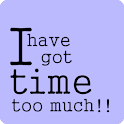 I have got time too much ! icon