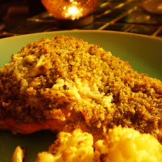 Onion-Crusted Salmon