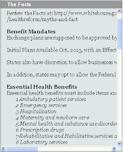 HEALTHcare - 2014 Reform - screenshot