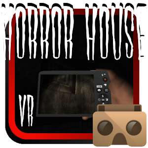 Cover art Horror House for cardboard