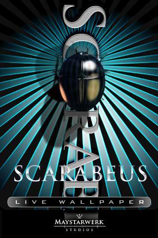 【免費娛樂App】SCARABEUS live wallpaper-APP點子