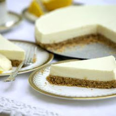 Aris's Easy Unbaked Lemon Cheesecake