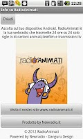 Screenshot of Radio Animati