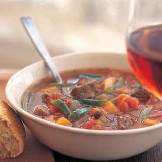 Hearty Beef & Vegetable Soup