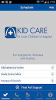 Screenshot of Kid Care-St. Louis Children's