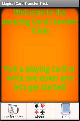 Magical Card Transfer Trick