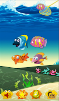 Screenshot of Baby Fishing for kids games
