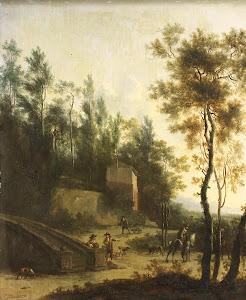 RIJKS: Frederik de Moucheron: painting 1686