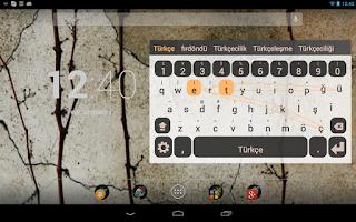 Screenshot of Turkish Keyboard Plugin