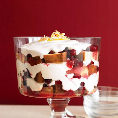 Cranberry Trifle