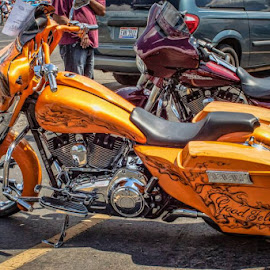 by Judy Deaver - Transportation Motorcycles (  )