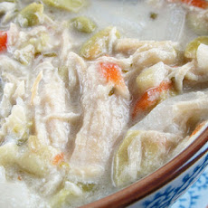 Thai Coconut Chicken Noodle Soup
