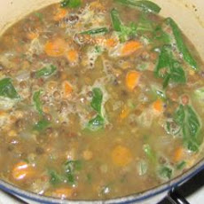 Autumn Lentil Soup