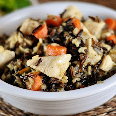 Rosemary Chicken and Wild Rice