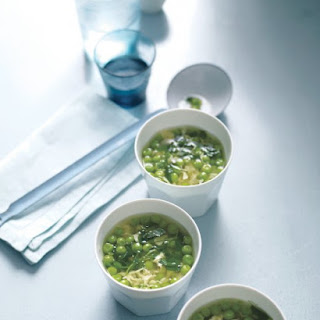 Pea, Lemon, and Egg-Drop Soup